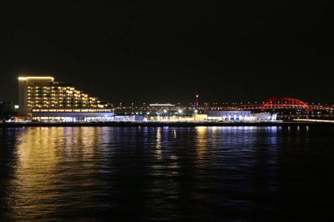神戸大橋の夜景2