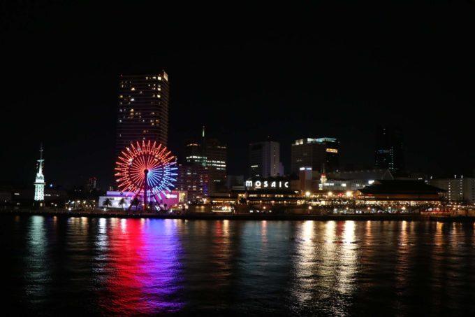 神戸モザイクの夜景2
