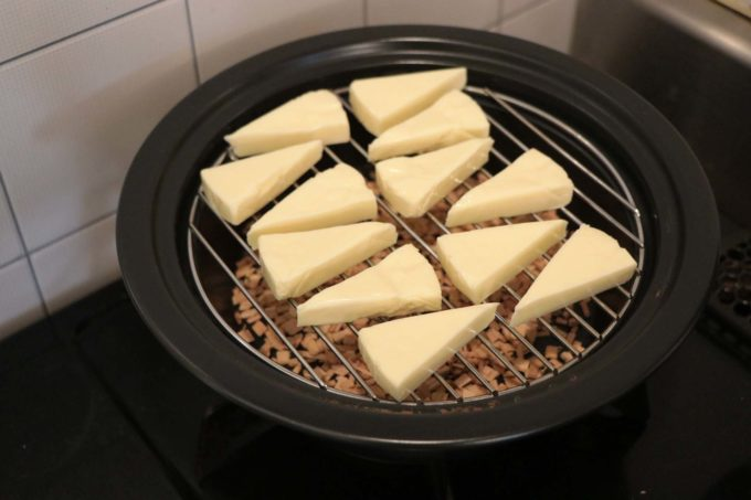 チーズをセット