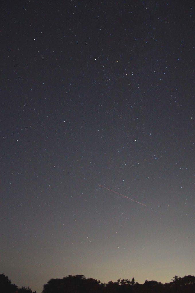 Kiss X2で撮影した星空