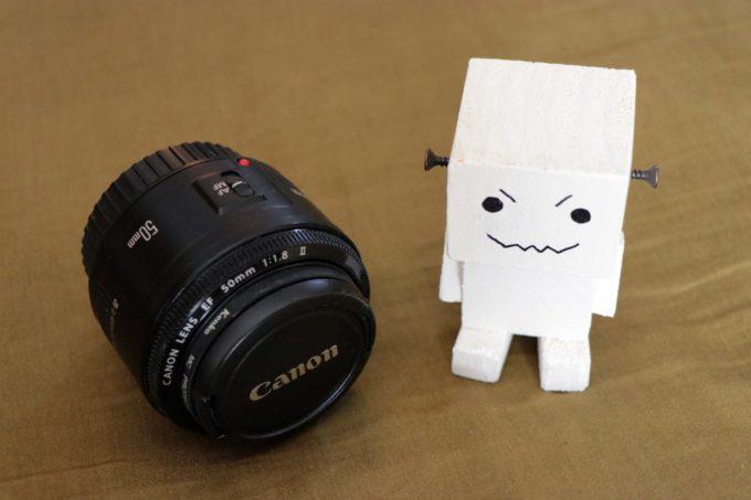 単焦点レンズCanon 単焦点レンズ EF50mm F1.8 II