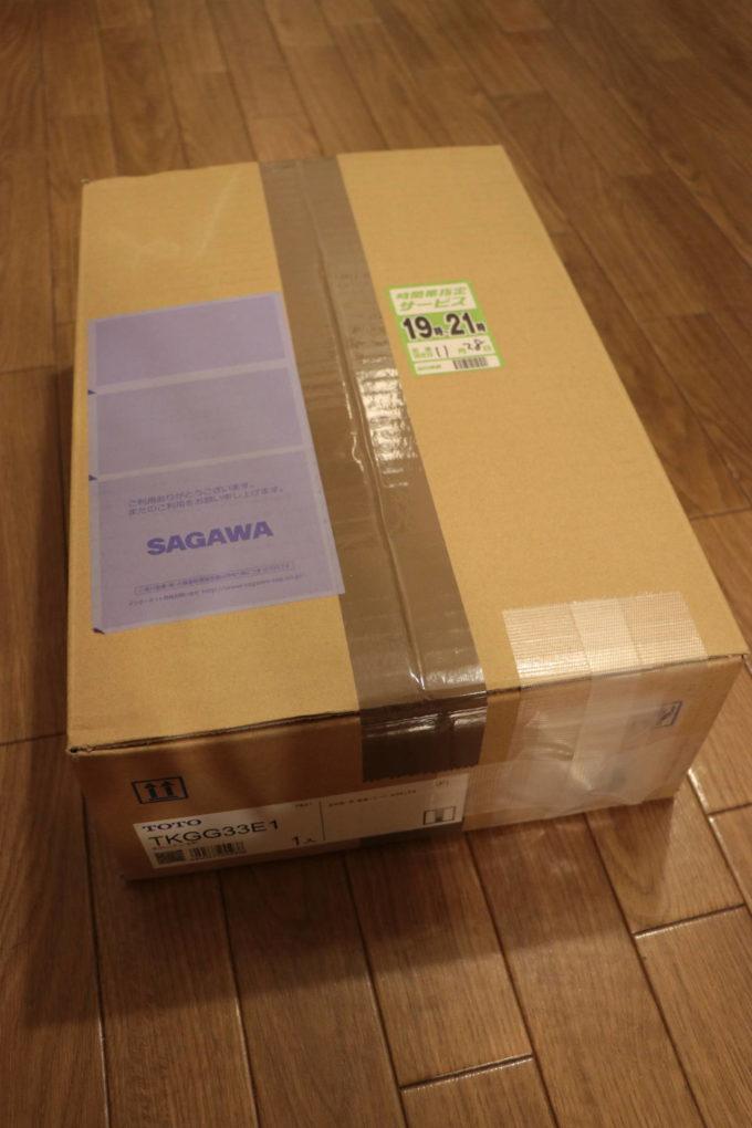 TOTO「TKGG33E1」の箱
