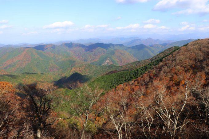 立里荒神社からの景色